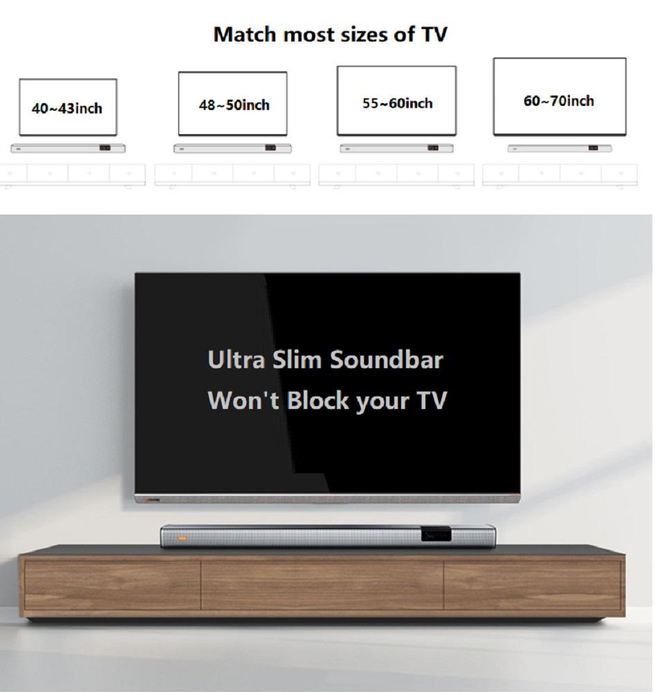 wireless home theater soundbar speaker
