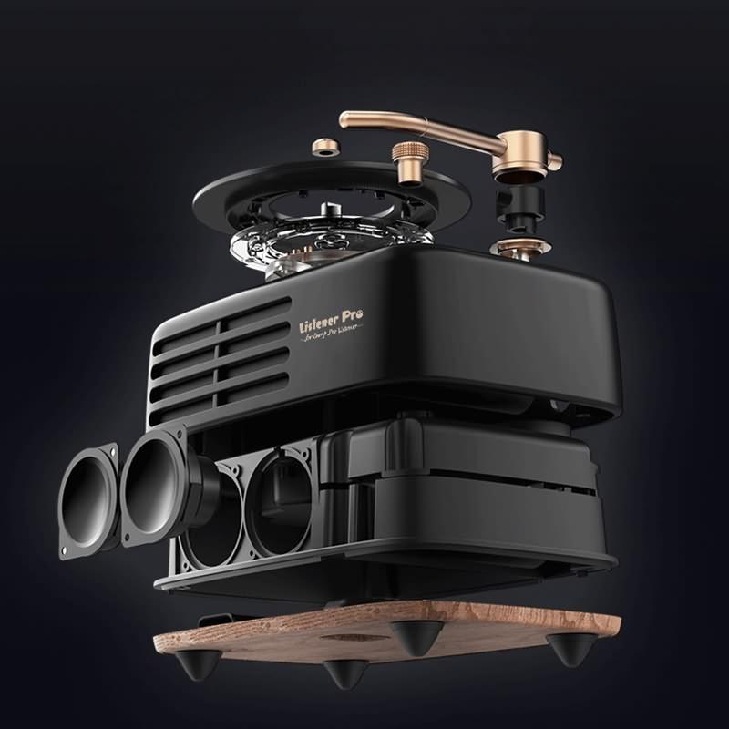 Retro Bluetooth Speaker LP-WS100R (5)