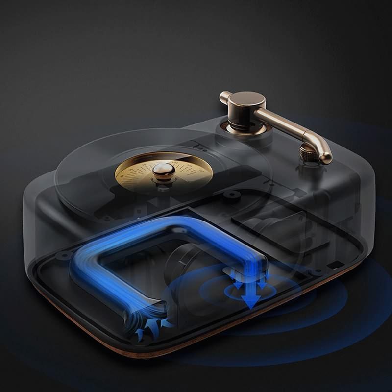 Retro Bluetooth Speaker LP-WS100R (6)